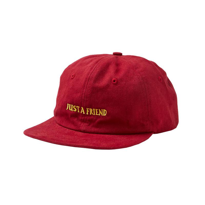 JUST A FRIEND CAP / RED