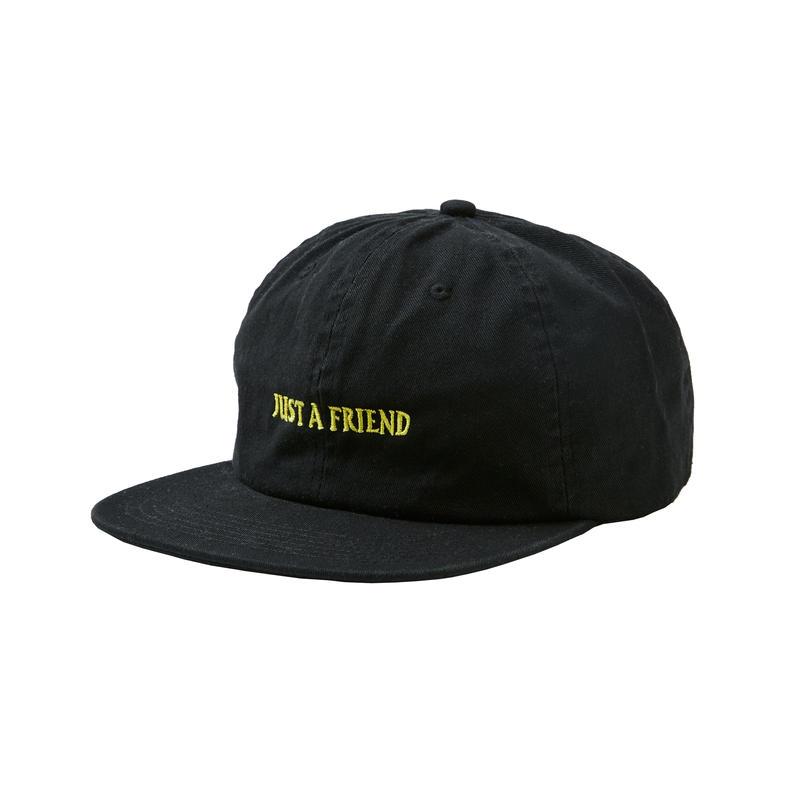 JUST A FRIEND CAP / BLACK