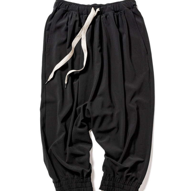 balloon track pants