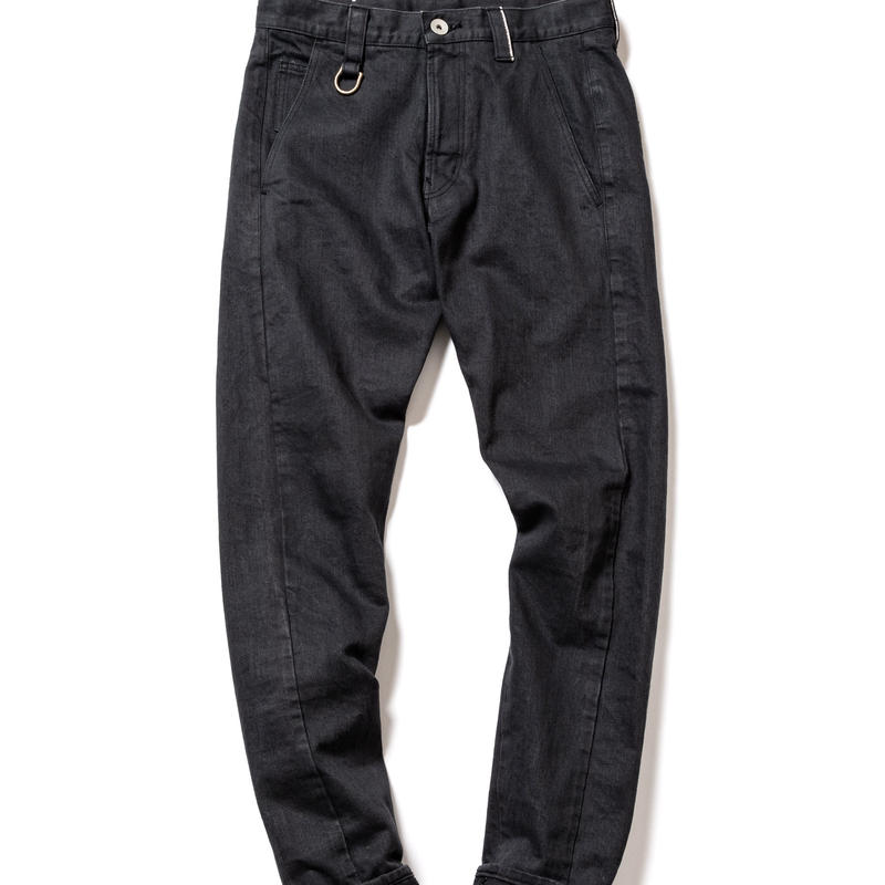 selvedge denim pants #01 (slim tapered)