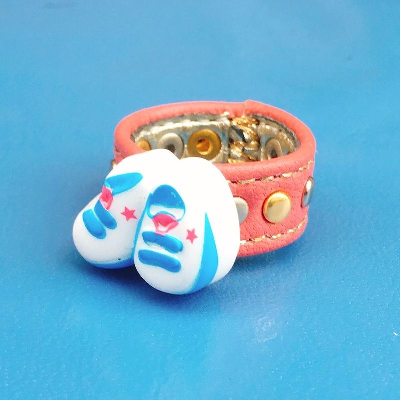★新作★ Leather  Ring (スニーカーメモリーズ)