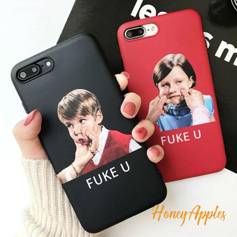 FUKE U [ 女の子 / 男の子 ] ユニークデザイン iPhoneケース