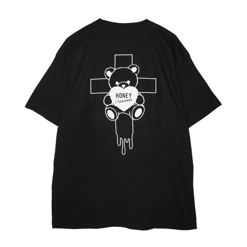 192CS0537 <Unisex>十字架シナモンTシャツ