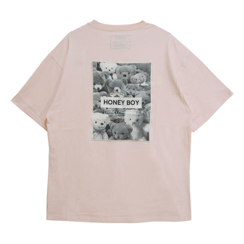 192CS0415<Unisex>テディコレクションTシャツ