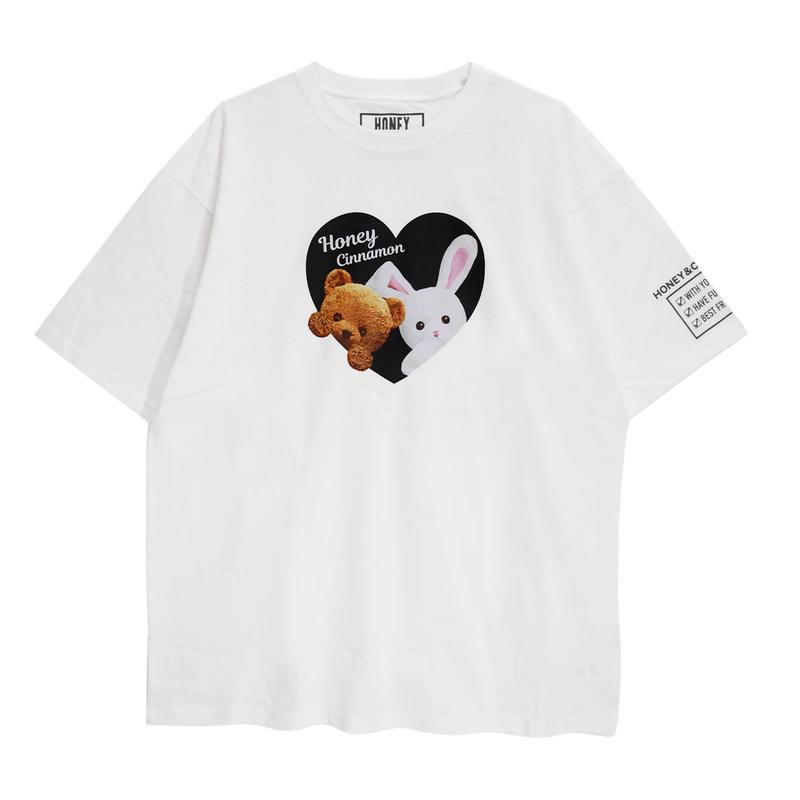 192CS0529 <Unisex>ハニー&シナモンTシャツ