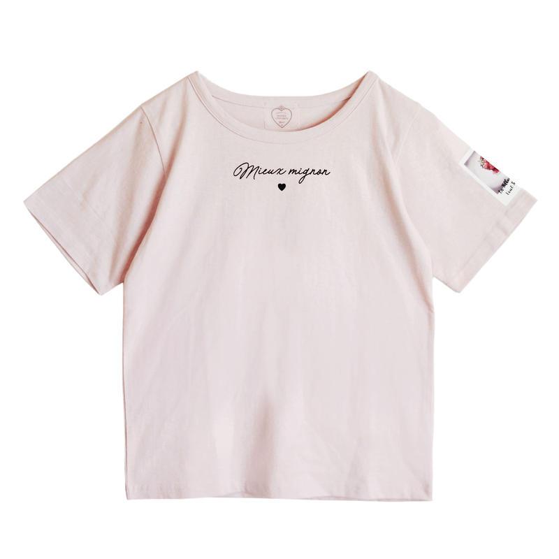 191CS0325 <Mieux>mieuxロゴTシャツ