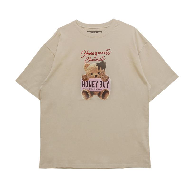 192CS0416<Unisex>チョコシナモンTシャツ