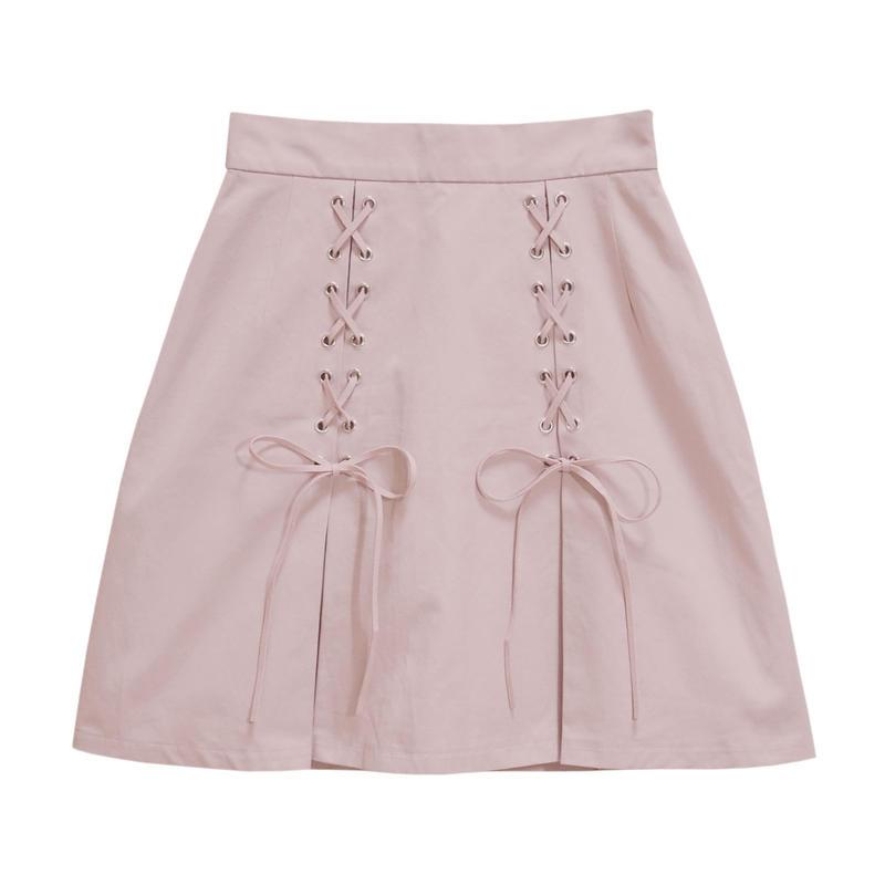 192SK0415 ボックスタック台形スカート