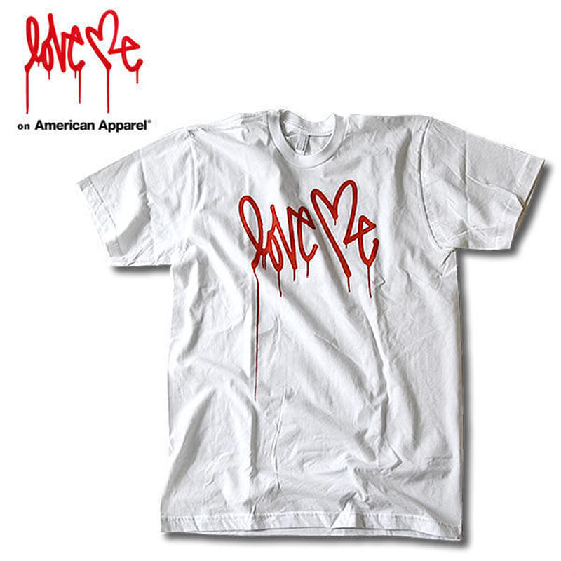 【LOVE ME】 MEN'S l T-shirt [White]