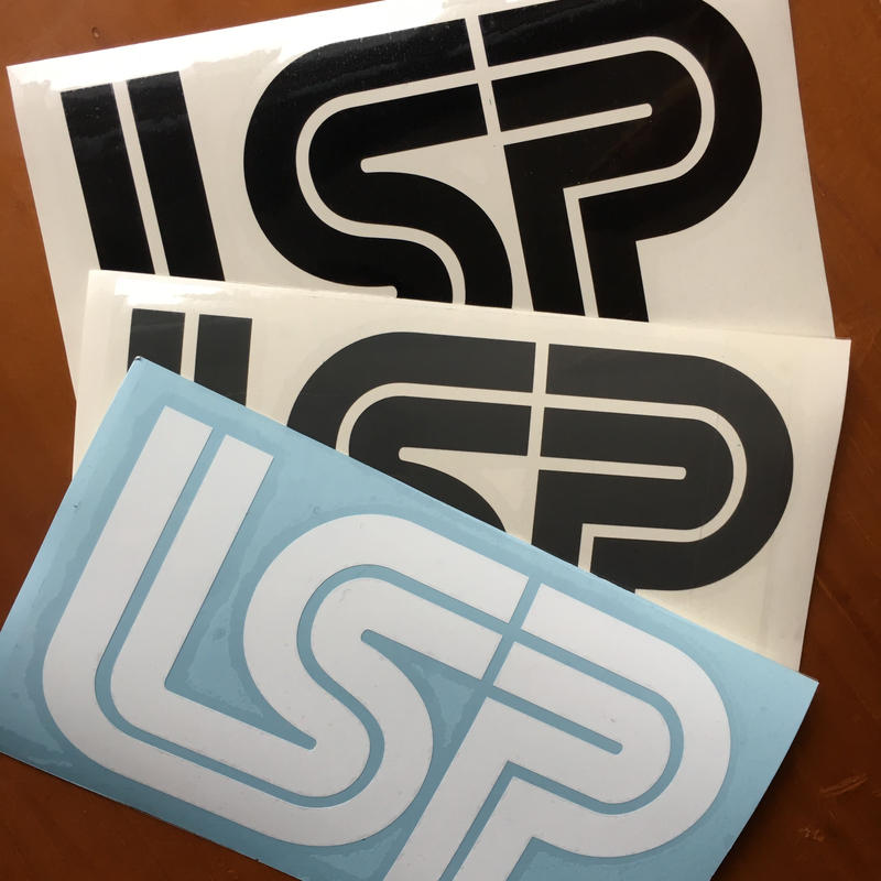 LSP ダイカットステッカー3色セット