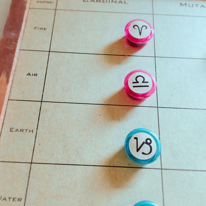 #豆12サインマグネット(シール貼り)12個セット ※マグネットのみ