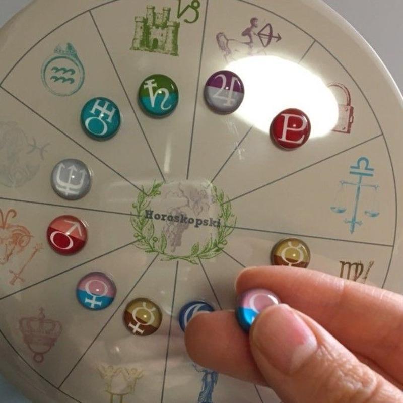 まめに暮らそう!完全ハンドメイド  #新豆惑星マグネット 10種セット (写真のロゴ入り台座つき)