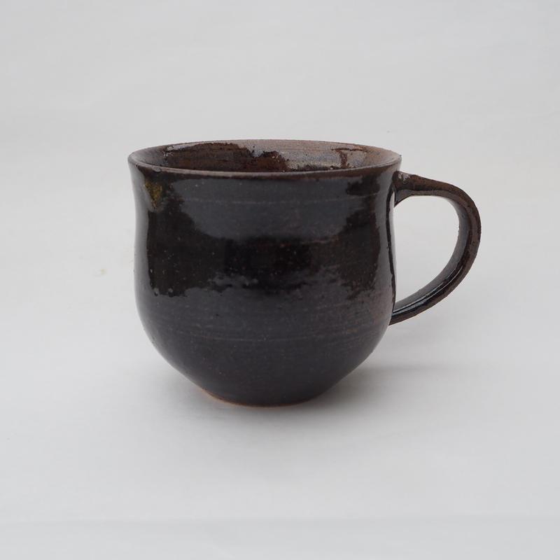 鉄釉 マグカップ