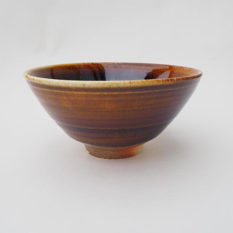 飴釉 飯茶碗