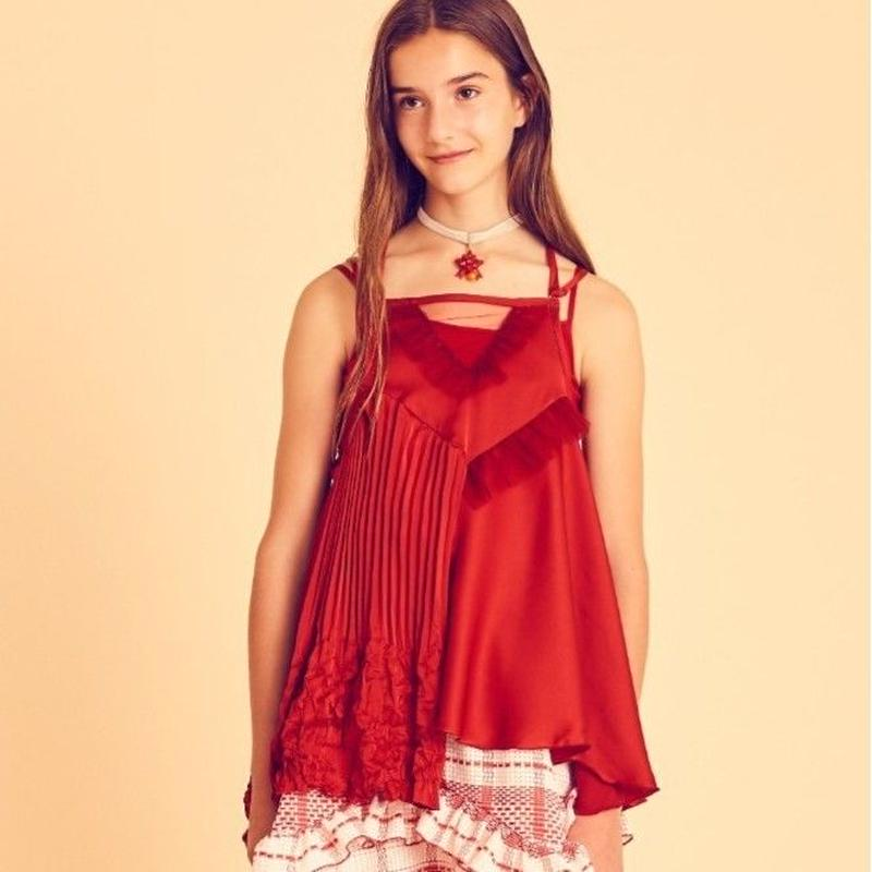 wrapping satin camisole