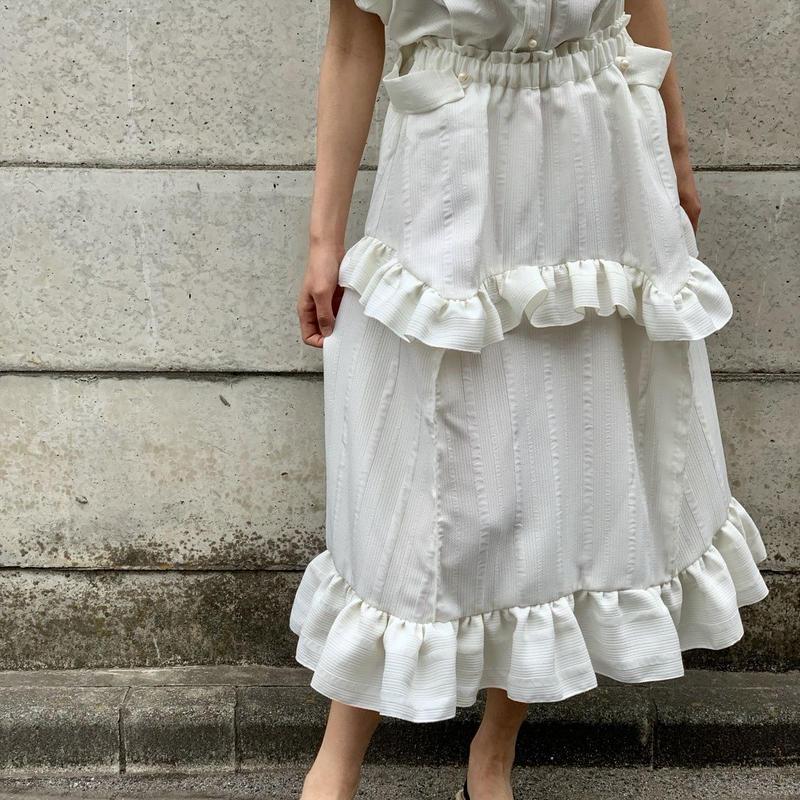 white box skirt