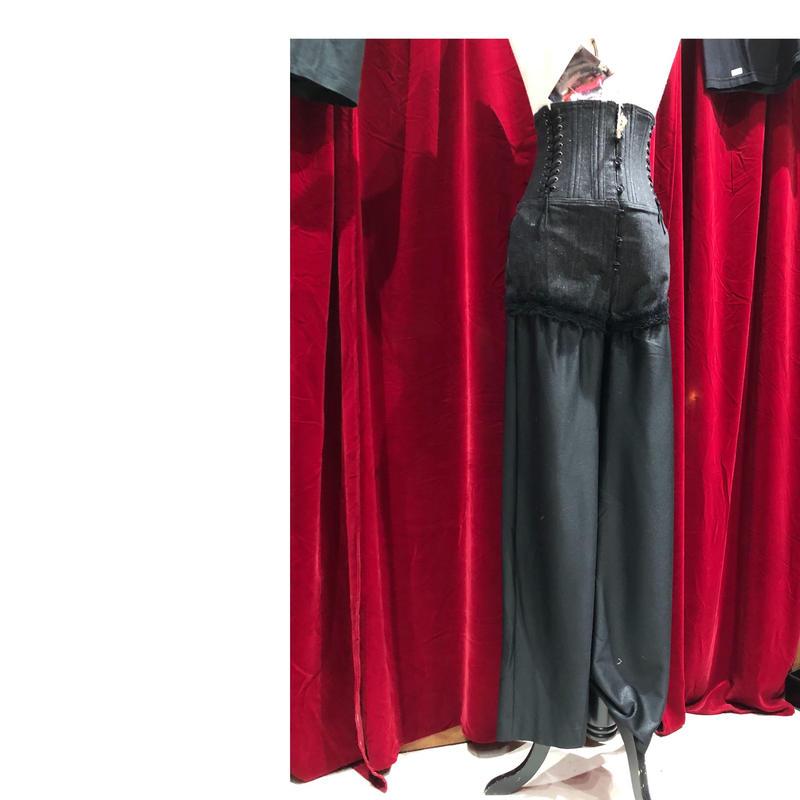 set up/high-waist corset pt