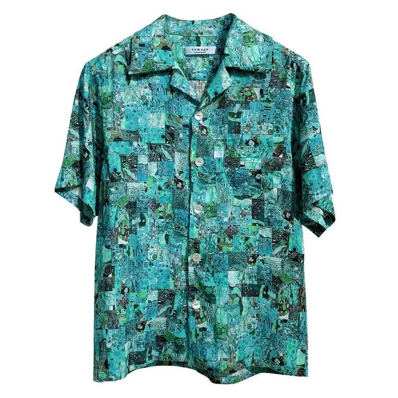 tamago - Men's shirt / Hemp fabric from Japan