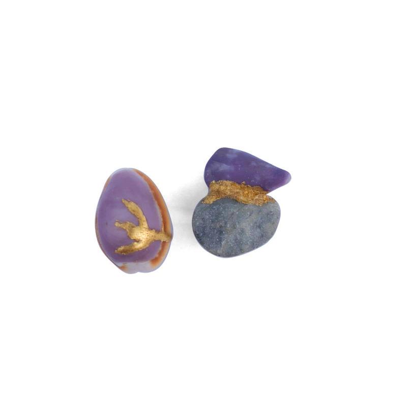 cottle yambaru collection/ヤンバル貝・石・純金箔チタンピアス