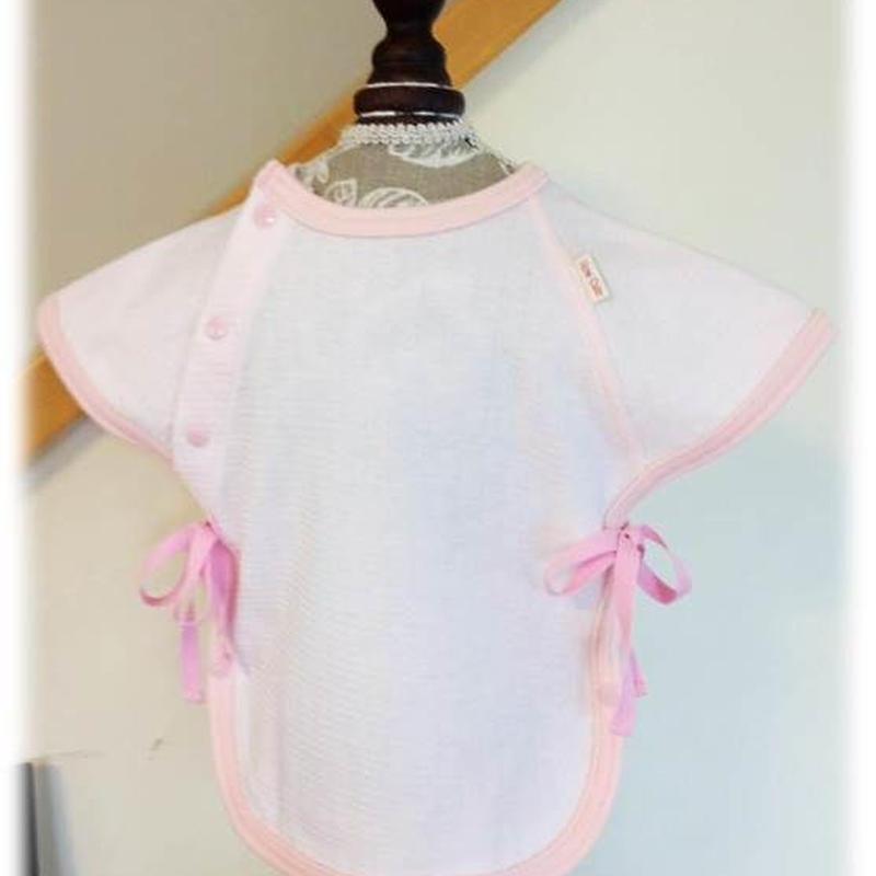 HowCute®︎点滴用肌着S ピンク、若草、イエロー&帽子セット(低出生体重児サイズ)