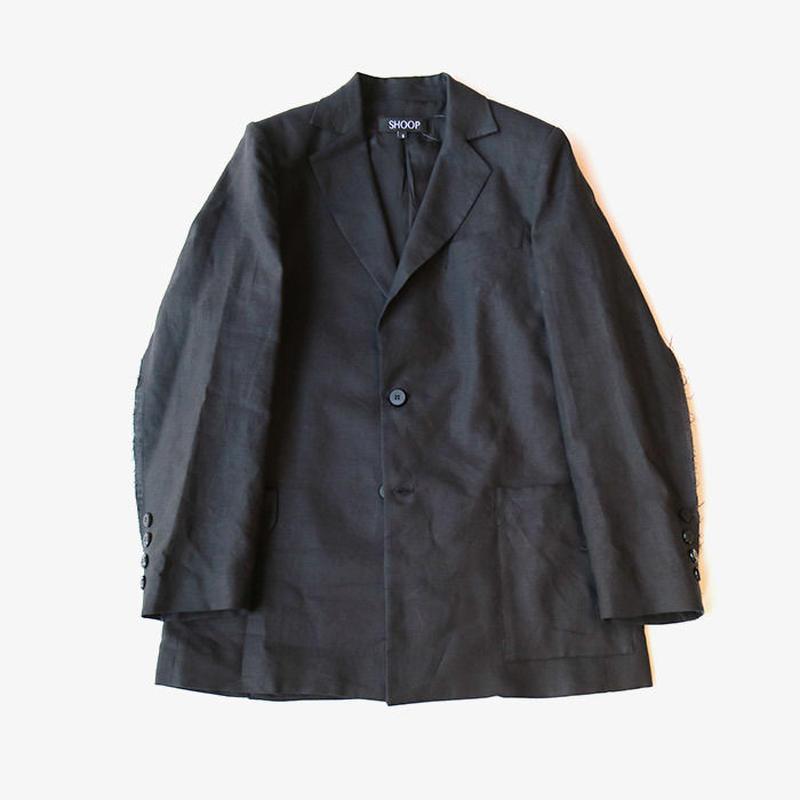 SHOOP | Linen Ballad Blazer | Black