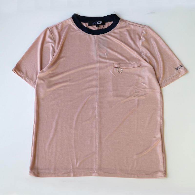 SHOOP | Retro T-Shirt | Nude