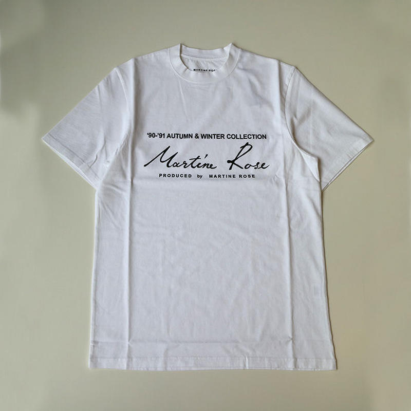 Martine Rose | CLASSIC SHORT SLEEVE T-SHIRTS | WHITE