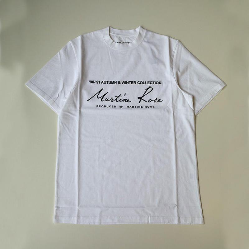 Martine Rose | CLASSIC SHORT SLEEVE T-SHIRTS | WHITE
