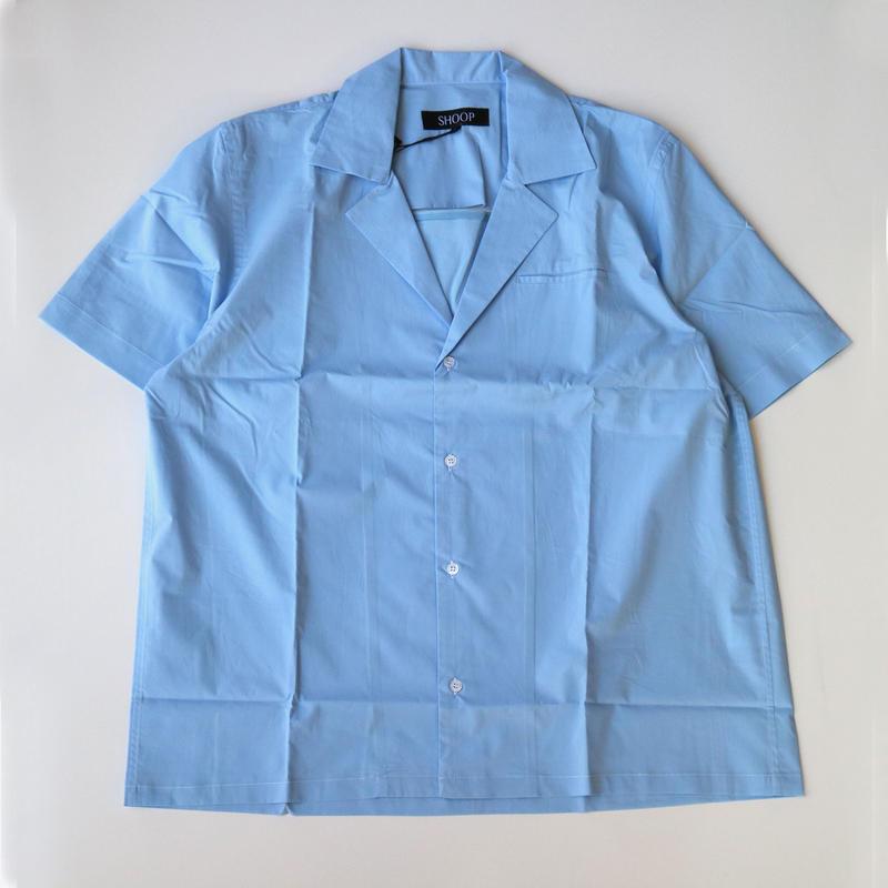SHOOP   Vented Shirt   Light Blue