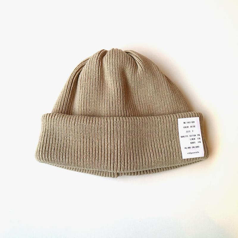 crepuscule | knit cap  | Beige