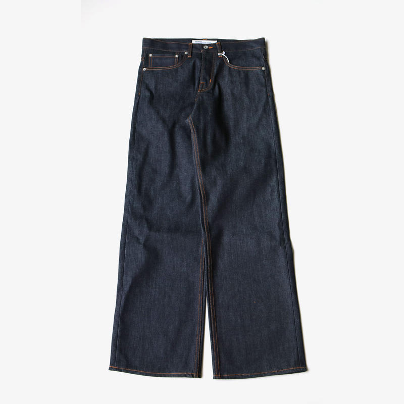DAIRIKU | Non-Wash Denim Pants | INDIGO