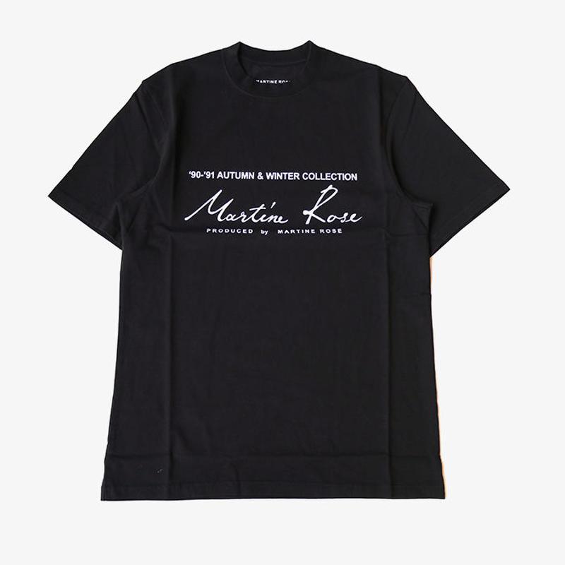 Martine Rose | CLASSIC SHORT SLEEVE T-SHIRTS | BLACK