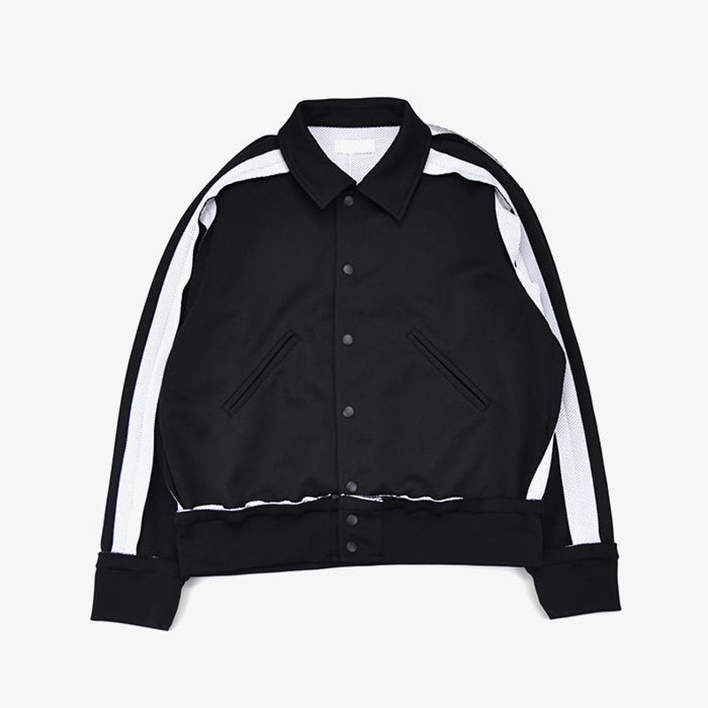 neonsign | INSIDE-OUT  TRACK JACKET | BLK