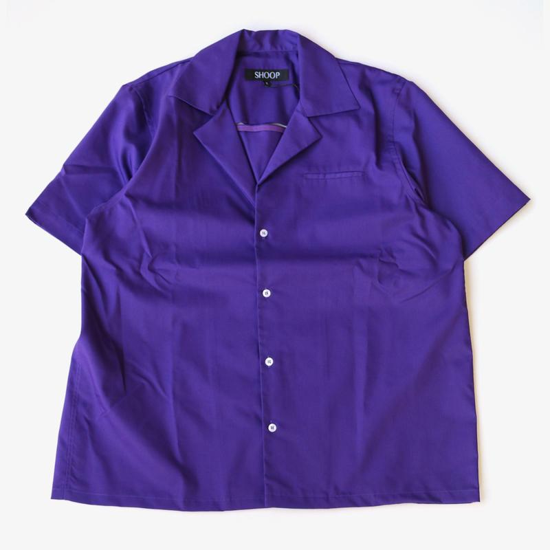 SHOOP | Vented Shirt | Violet