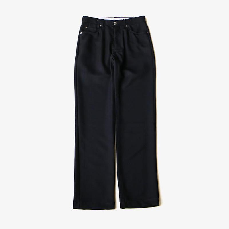 ALLEGE   Wool 5-Pocket Pants    NAVY