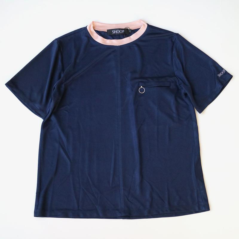 SHOOP | Retro T-Shirt | Indigo