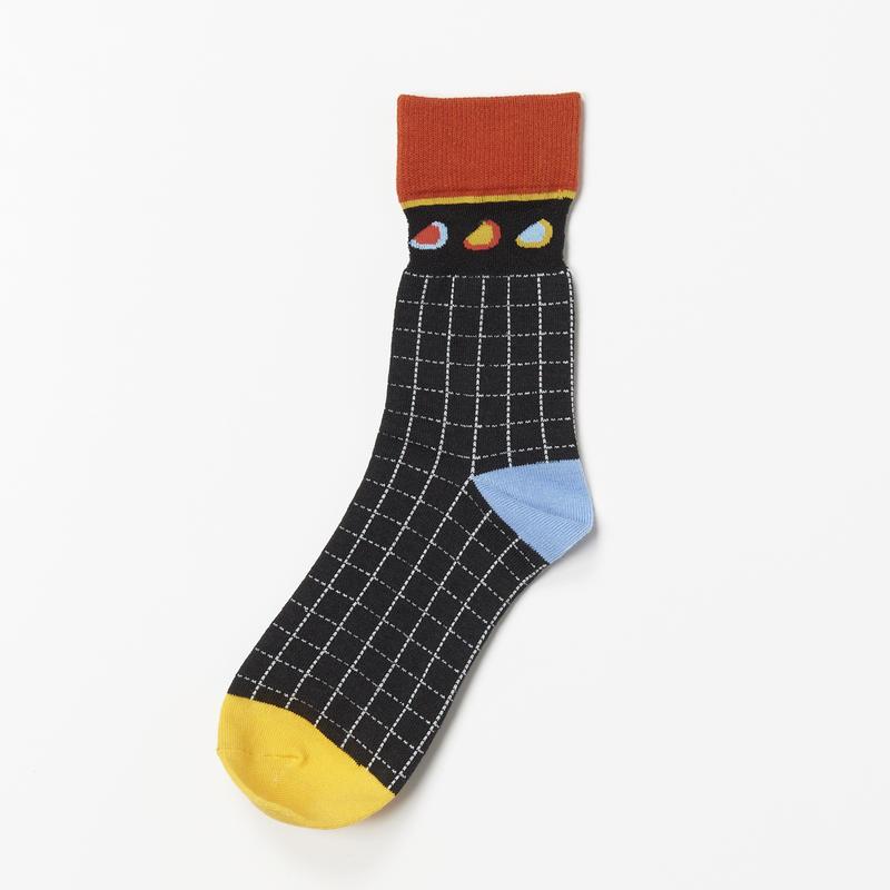 Doodle Socks (BLACK)