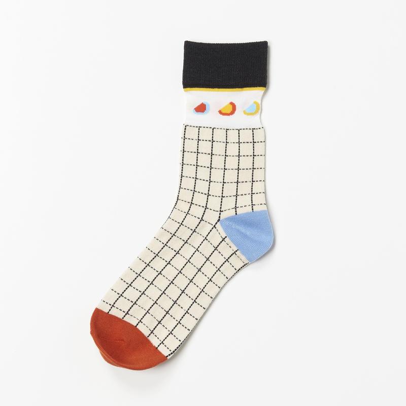 Doodle Socks  (WHITE)