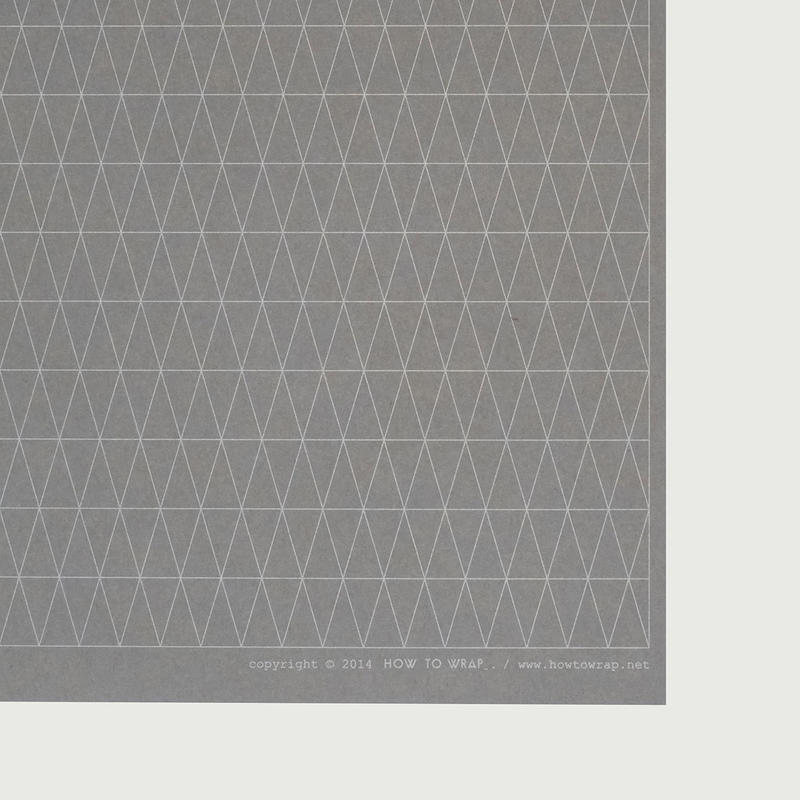 WRAPPING PAPER / GEOMETRY (bluegrey)