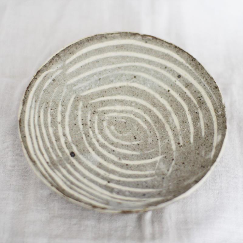 石川圭 四寸皿 (益子焼)
