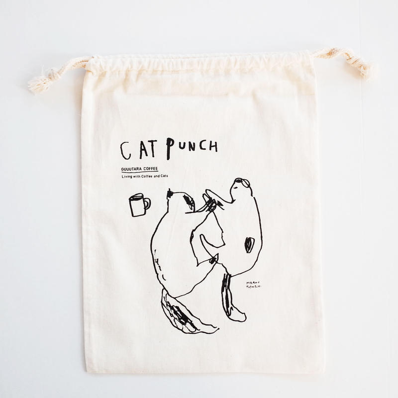 CAT PUNCH 巾着
