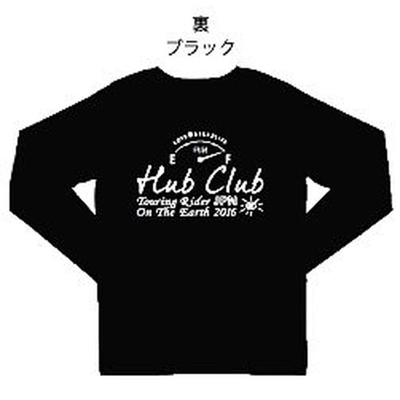 XLサイズの倶楽部オリジナルT-シャツ(ブラックカラー)
