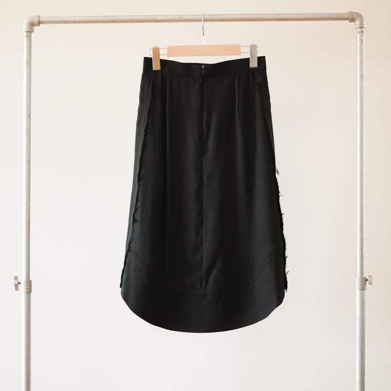 CINOH DRAPED SKIRT  チノ ドレープドスカート