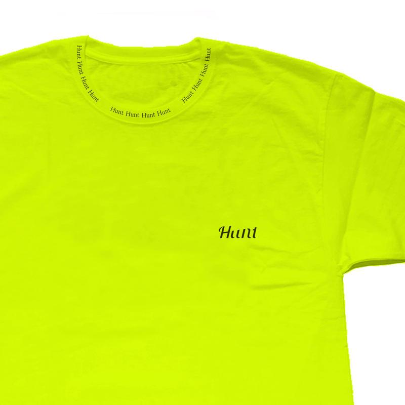 "Hunt Tokyo ""4 Hunt ""Neck Print T-shirts Tシャツ 数量限定"
