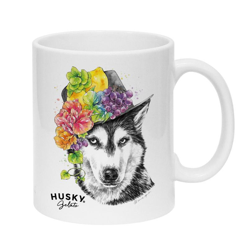 HUSKY マグ / 帽子ロゴ