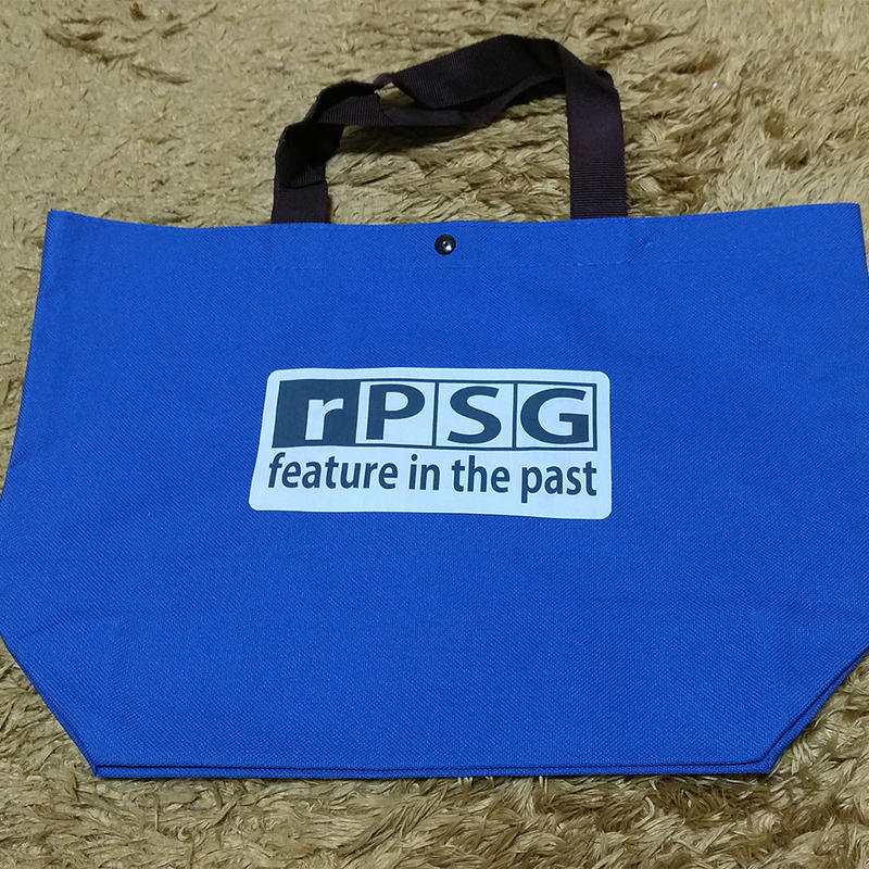 rPSG トートバッグ(BLUE)