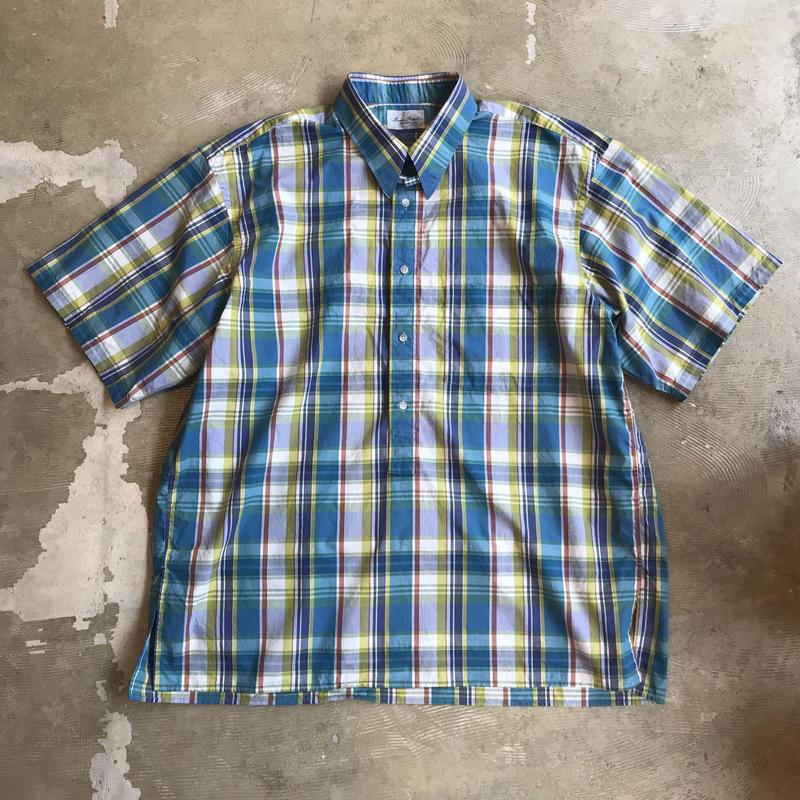"""■お問い合わせ商品■ Marvine Pontiak Shirt Makers """"Tab Color Shirts"""" (マドラスチェック)"""
