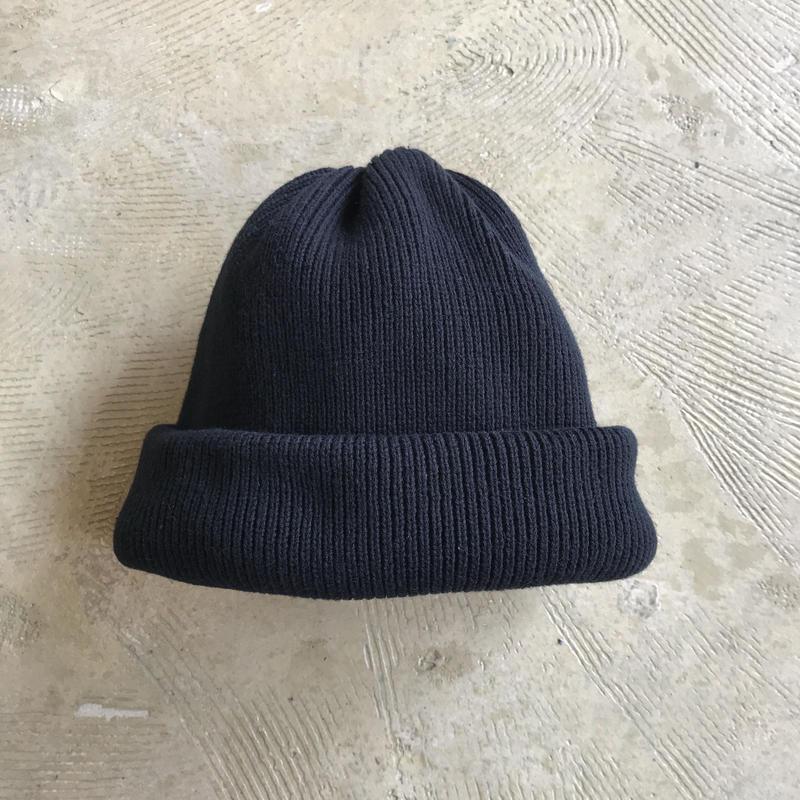 "crepuscule ""knit cap2"" / クレプスキュール ""ニットキャップ2"" (ブラック)"