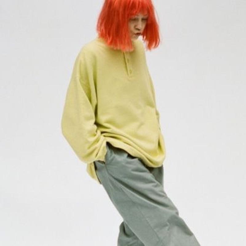 """■お問い合わせ商品■ gourmet  jeans """"henley sweat"""""""