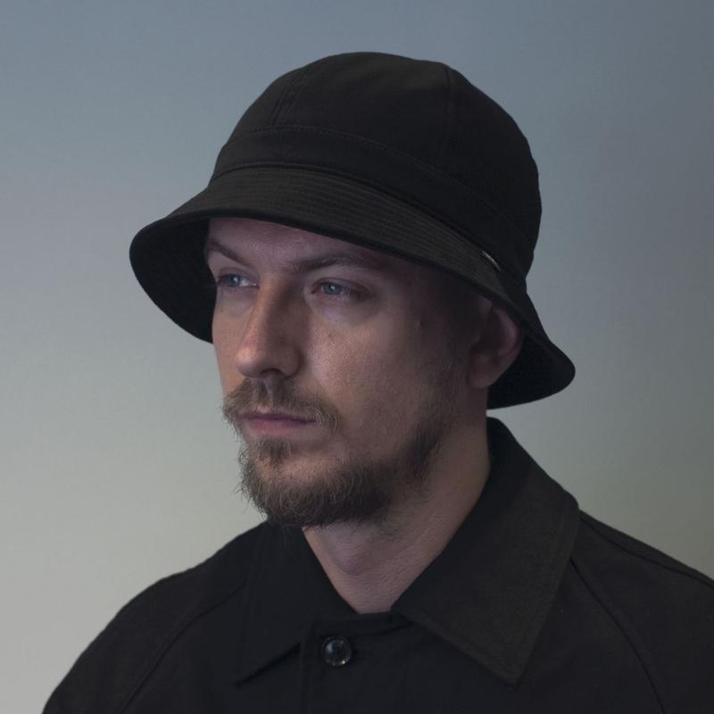 """RACAL """"Metro HAT"""" / ラカル """"メトロハット"""" (ブラック)"""